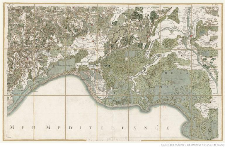histoire cartographie cassini