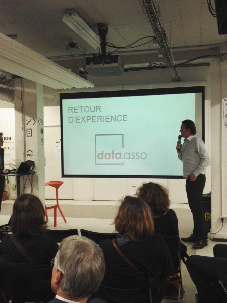 Marc Sallières présente DataAsso au Numa Paris 15022016