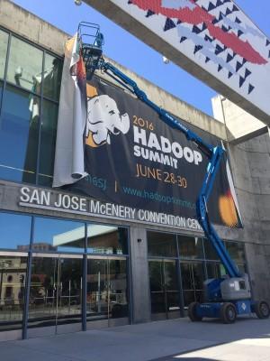 hadoop summit installation banderole