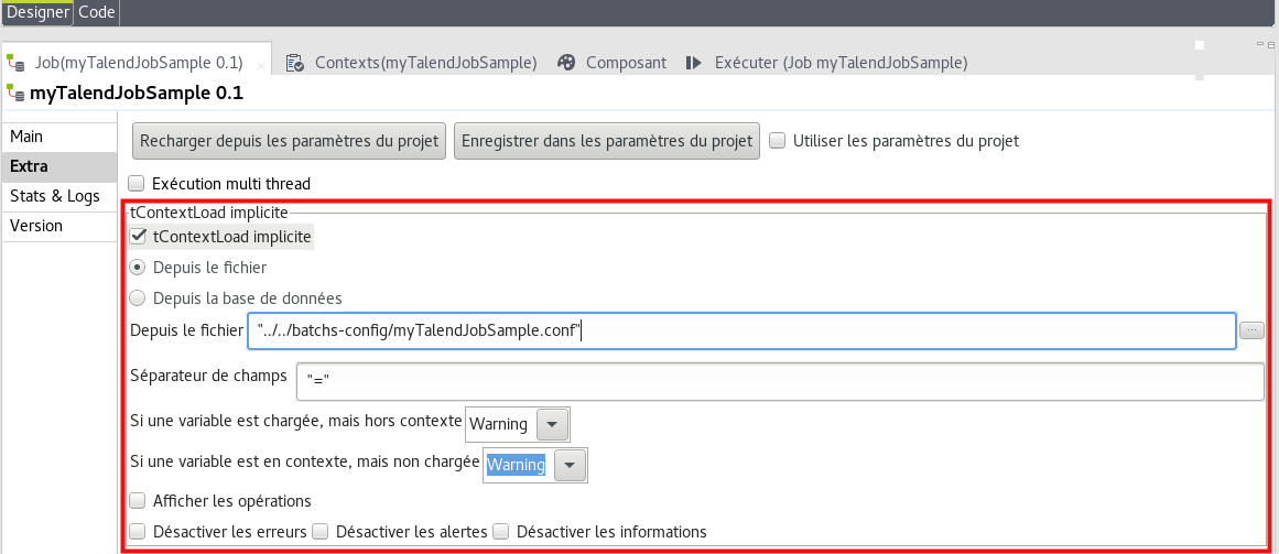 synaltic confd how to 3 execution job