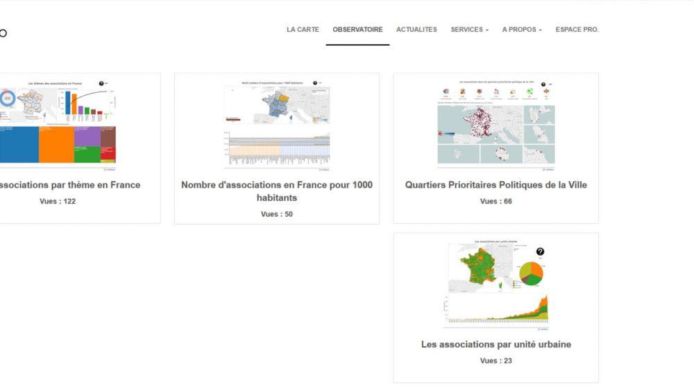 version beta du site data asso