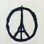 pray for paris logo attentats 2015