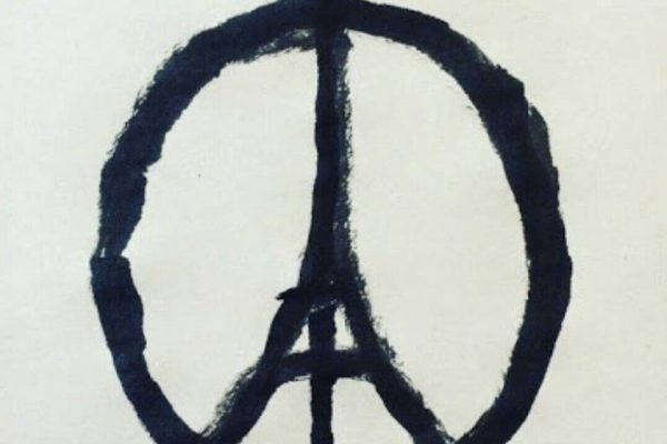 pray for paris logo attentats 2015