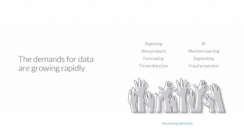 les utilisateurs métiers veulent accéder à la donnée