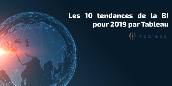 10 tendances de la BI pour 2019