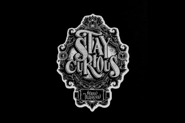 logo stay curioius réalisé par Rob Draper