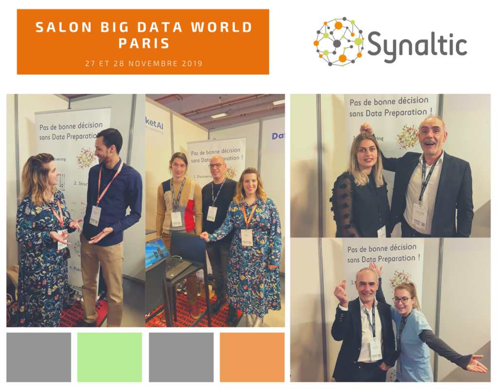 Nos collaborateurs certifiés en action au Big Data World !